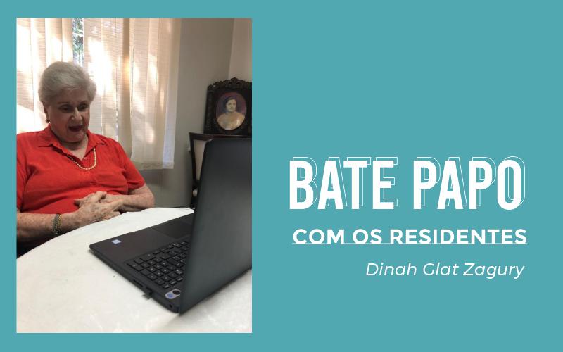 Entrevista com a nossa moradora D. Dinah